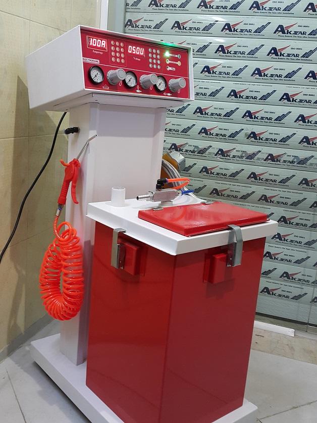 دستگاه الکترواستاتیک مدرن الکترورنگ