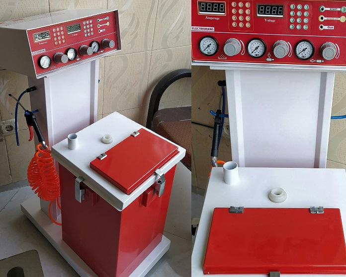 دستگاه پاشش مدرن الکترورنگ
