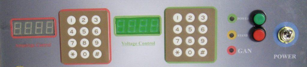 نمونه ی دیگری از اولین پنل های دیجیتال دستگاه رنگپاش الکترورنگ